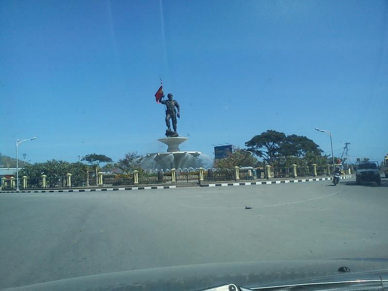 Patung Presiden Kedua Dili Nicolao Lobato