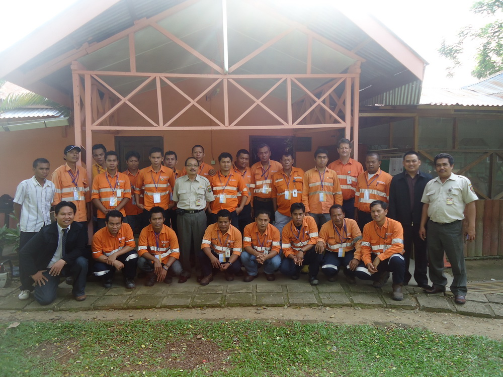 training chainsaw operator di agincourt resources 2012